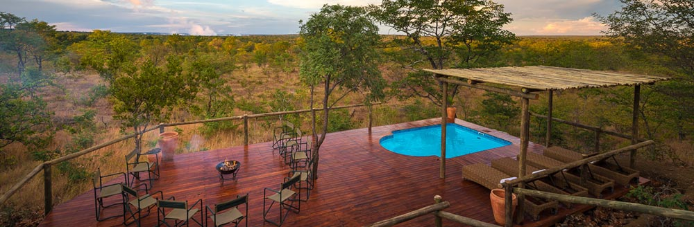 Unforgettable Zimbabwe Safari - Exclusive Adventures - Elephant Camp - west view