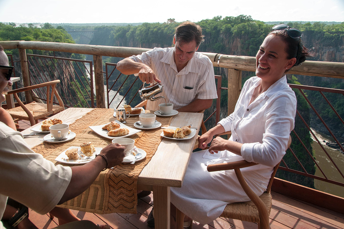 Unforgettable Zimbabwe Safari - Exclusive Adventures - Lookout Cafe -