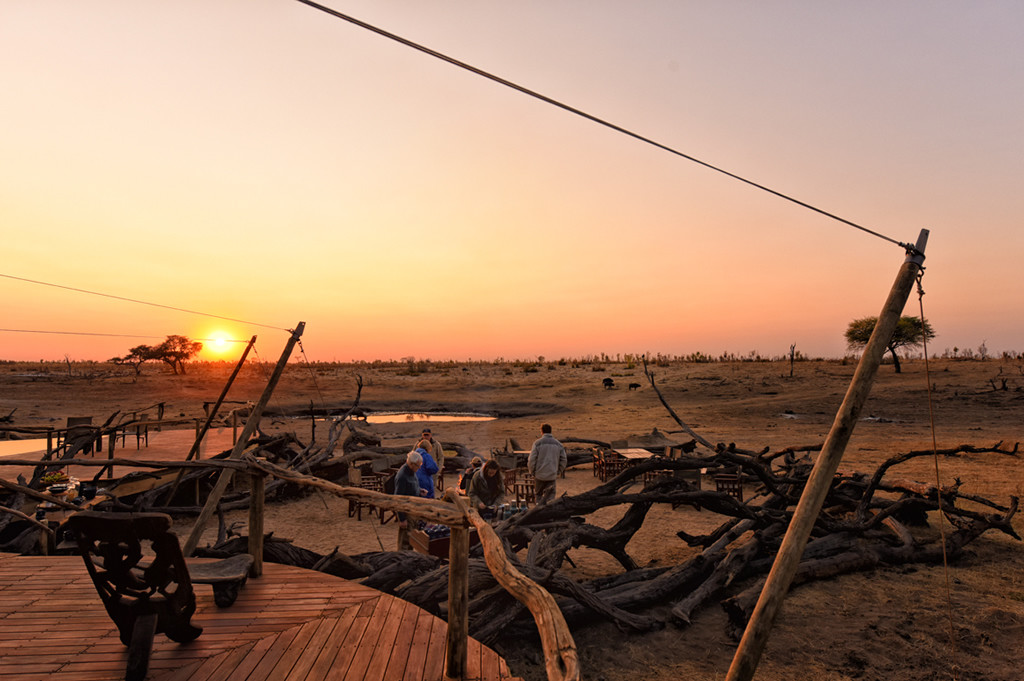 Unforgettable Zimbabwe Safari - Exclusive Adventures - Somalisa Camp - Sunset