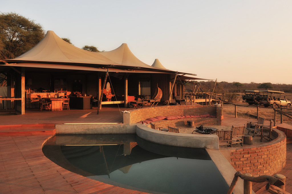 Unforgettable Zimbabwe Safari - Exclusive Adventures - Somalisa Camp - deck